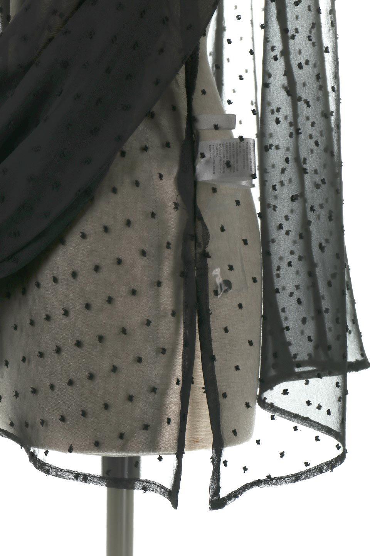 CandySleeveDottedSheerBlouseキャンディースリーブ・シアーブラウス大人カジュアルに最適な海外ファッションのothers(その他インポートアイテム)のトップスやカットソー。今季大人気のシアー素材を使用したギャザーブラウス。各所にギャザーを多用したデザインでふんわりとした女性らしさを醸し出してくれます。/main-25