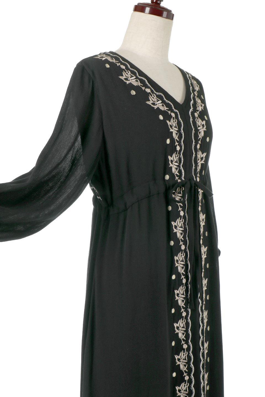 ExoticEmbroideredBohemianDressエスニック刺繍・ボヘミアンワンピース大人カジュアルに最適な海外ファッションのothers(その他インポートアイテム)のワンピースやマキシワンピース。ナチュラルなエスニックテイストが一目見ただけで可愛いボヘミアンなワンピース。刺繍が魅力的なワンピースです。/main-11