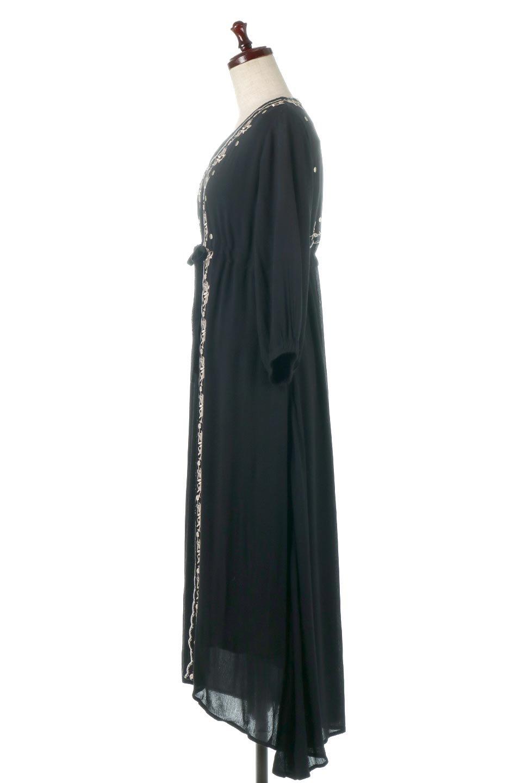 ExoticEmbroideredBohemianDressエスニック刺繍・ボヘミアンワンピース大人カジュアルに最適な海外ファッションのothers(その他インポートアイテム)のワンピースやマキシワンピース。ナチュラルなエスニックテイストが一目見ただけで可愛いボヘミアンなワンピース。刺繍が魅力的なワンピースです。/main-2