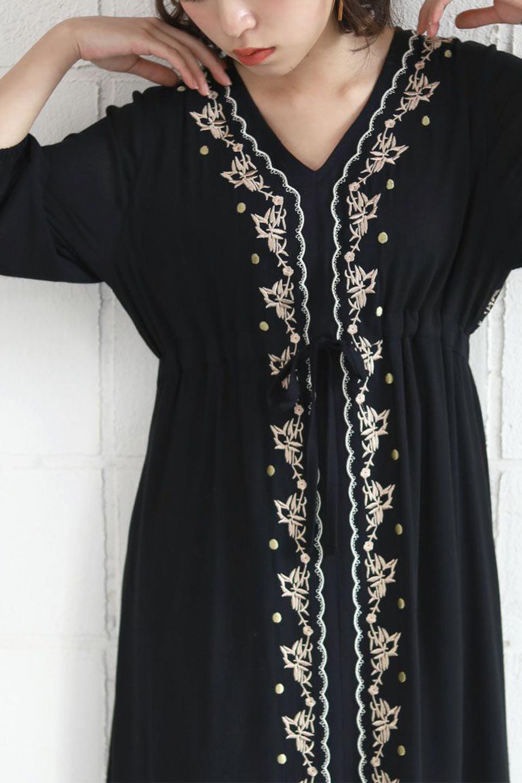 ExoticEmbroideredBohemianDressエスニック刺繍・ボヘミアンワンピース大人カジュアルに最適な海外ファッションのothers(その他インポートアイテム)のワンピースやマキシワンピース。ナチュラルなエスニックテイストが一目見ただけで可愛いボヘミアンなワンピース。刺繍が魅力的なワンピースです。/main-22