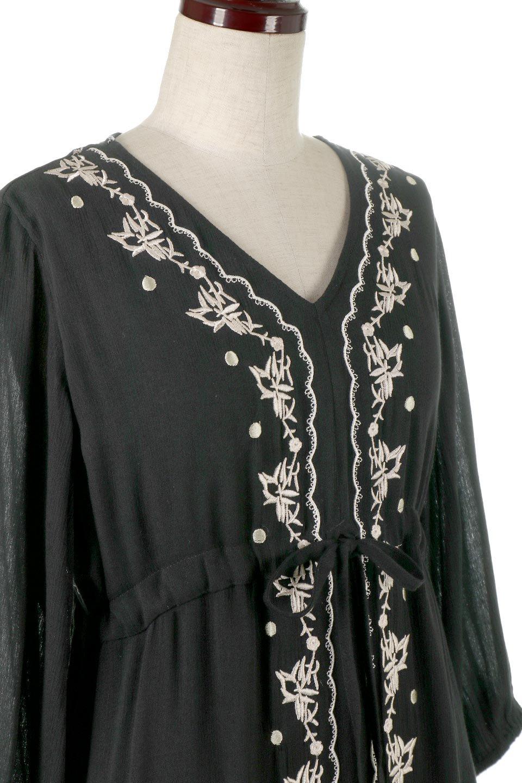 ExoticEmbroideredBohemianDressエスニック刺繍・ボヘミアンワンピース大人カジュアルに最適な海外ファッションのothers(その他インポートアイテム)のワンピースやマキシワンピース。ナチュラルなエスニックテイストが一目見ただけで可愛いボヘミアンなワンピース。刺繍が魅力的なワンピースです。/main-6