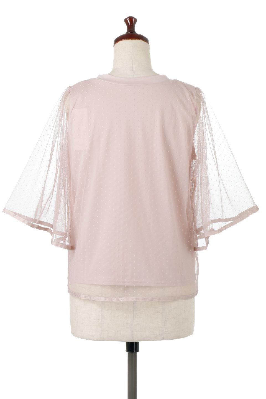 SheerDotSleeveLayeredBlouseドットチュールスリーブ・ドッキングブラウス大人カジュアルに最適な海外ファッションのothers(その他インポートアイテム)のトップスやシャツ・ブラウス。人気のシアー素材を使用した袖が可愛いフェイクレイヤードのブラウス。袖のドット柄が上品な雰囲気で女性らしいおーディネートが楽しめます。/main-19