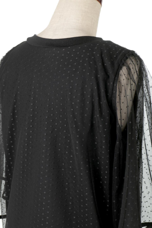 SheerDotSleeveLayeredBlouseドットチュールスリーブ・ドッキングブラウス大人カジュアルに最適な海外ファッションのothers(その他インポートアイテム)のトップスやシャツ・ブラウス。人気のシアー素材を使用した袖が可愛いフェイクレイヤードのブラウス。袖のドット柄が上品な雰囲気で女性らしいおーディネートが楽しめます。/main-22