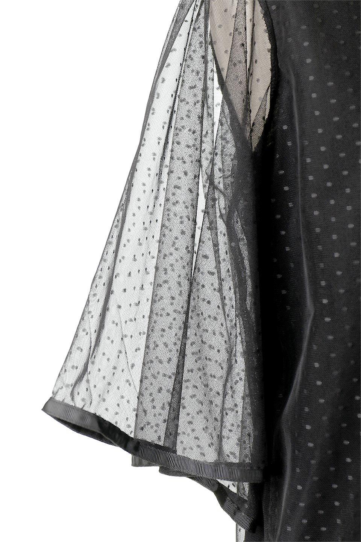 SheerDotSleeveLayeredBlouseドットチュールスリーブ・ドッキングブラウス大人カジュアルに最適な海外ファッションのothers(その他インポートアイテム)のトップスやシャツ・ブラウス。人気のシアー素材を使用した袖が可愛いフェイクレイヤードのブラウス。袖のドット柄が上品な雰囲気で女性らしいおーディネートが楽しめます。/main-23