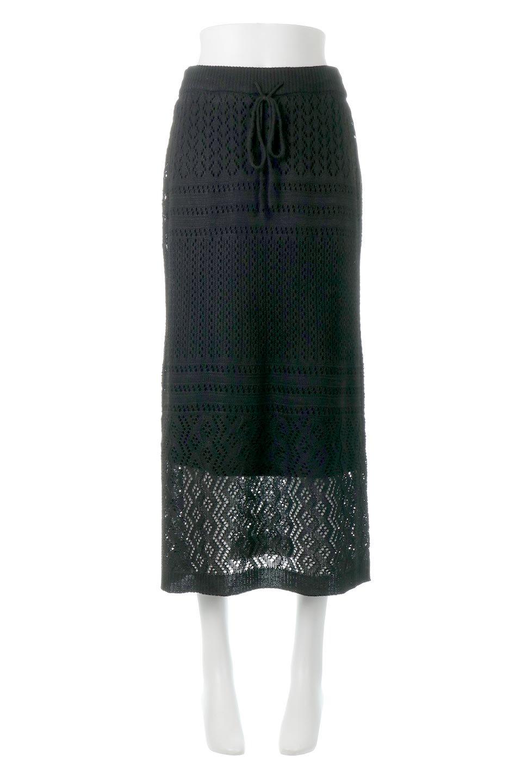 LacyKnitLongSkirt模様編み・ニットスカート大人カジュアルに最適な海外ファッションのothers(その他インポートアイテム)のボトムやスカート。春夏にぴったりな模様編みのロングスカート。着る人を選ばない長さで、シックでもカジュアルでも楽しめます。/main-15