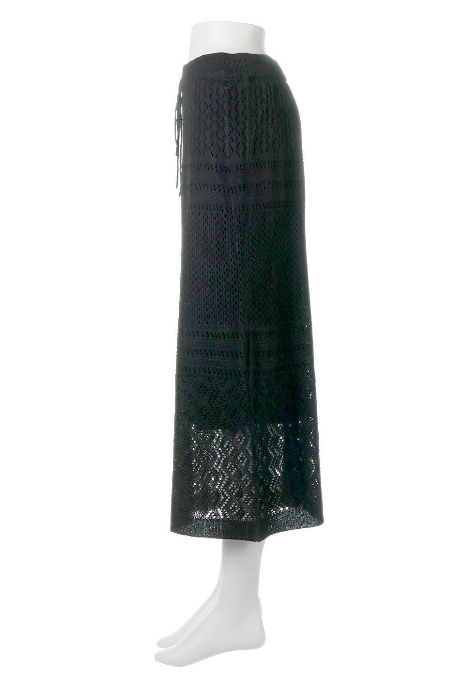 LacyKnitLongSkirt模様編み・ニットスカート大人カジュアルに最適な海外ファッションのothers(その他インポートアイテム)のボトムやスカート。春夏にぴったりな模様編みのロングスカート。着る人を選ばない長さで、シックでもカジュアルでも楽しめます。/main-17