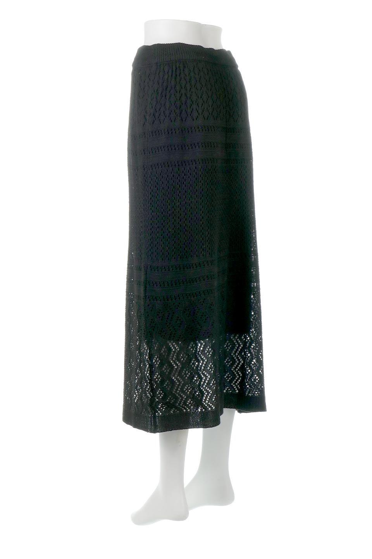 LacyKnitLongSkirt模様編み・ニットスカート大人カジュアルに最適な海外ファッションのothers(その他インポートアイテム)のボトムやスカート。春夏にぴったりな模様編みのロングスカート。着る人を選ばない長さで、シックでもカジュアルでも楽しめます。/main-18