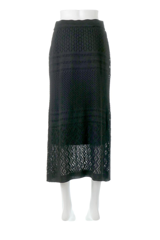 LacyKnitLongSkirt模様編み・ニットスカート大人カジュアルに最適な海外ファッションのothers(その他インポートアイテム)のボトムやスカート。春夏にぴったりな模様編みのロングスカート。着る人を選ばない長さで、シックでもカジュアルでも楽しめます。/main-19
