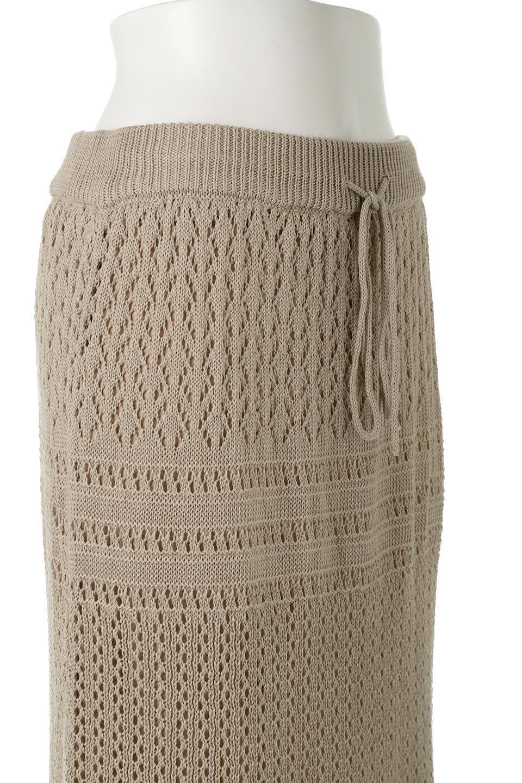 LacyKnitLongSkirt模様編み・ニットスカート大人カジュアルに最適な海外ファッションのothers(その他インポートアイテム)のボトムやスカート。春夏にぴったりな模様編みのロングスカート。着る人を選ばない長さで、シックでもカジュアルでも楽しめます。/main-20