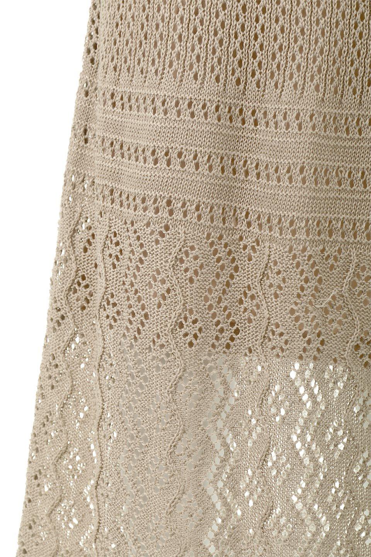 LacyKnitLongSkirt模様編み・ニットスカート大人カジュアルに最適な海外ファッションのothers(その他インポートアイテム)のボトムやスカート。春夏にぴったりな模様編みのロングスカート。着る人を選ばない長さで、シックでもカジュアルでも楽しめます。/main-23