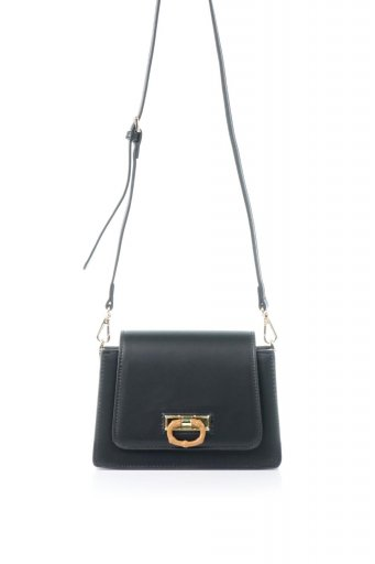 海外ファッションや大人カジュアルのためのインポートバッグ、かばんmelie bianco(メリービアンコ)のRobin (Black) クラシックスタイル・ミニショルダーバッグ