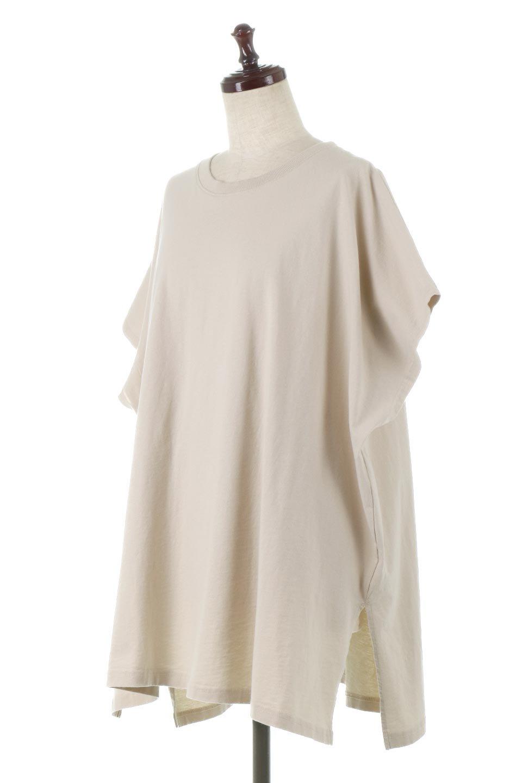 SideSlitOversizedPull-Overサイドスリット・オーバーサイズTシャツ大人カジュアルに最適な海外ファッションのothers(その他インポートアイテム)のトップスやカットソー。肉厚のTシャツ生地を使用したオーバーサイズTee。ルーズなシルエットは家でのリラックスタイムからアウトドア遊びまで大活躍です。/main-11