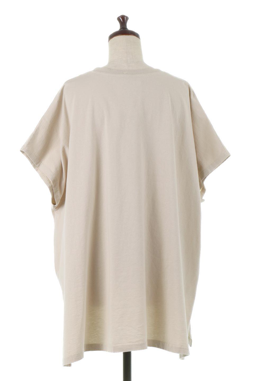 SideSlitOversizedPull-Overサイドスリット・オーバーサイズTシャツ大人カジュアルに最適な海外ファッションのothers(その他インポートアイテム)のトップスやカットソー。肉厚のTシャツ生地を使用したオーバーサイズTee。ルーズなシルエットは家でのリラックスタイムからアウトドア遊びまで大活躍です。/main-14