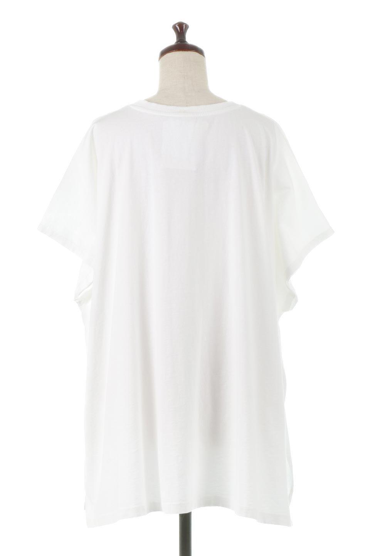 SideSlitOversizedPull-Overサイドスリット・オーバーサイズTシャツ大人カジュアルに最適な海外ファッションのothers(その他インポートアイテム)のトップスやカットソー。肉厚のTシャツ生地を使用したオーバーサイズTee。ルーズなシルエットは家でのリラックスタイムからアウトドア遊びまで大活躍です。/main-4