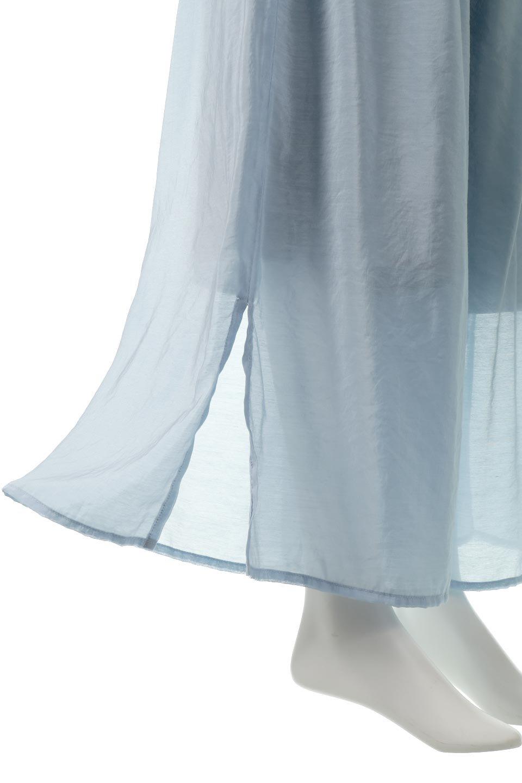 WideLegSlitSheerPantsサイドスリット・シアーパンツ大人カジュアルに最適な海外ファッションのothers(その他インポートアイテム)のボトムやパンツ。透け感のある人気のシアー素材を使用したワイドパンツ。涼しげな素材でスカートのような軽い着心地です。/main-17
