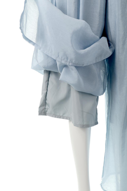 WideLegSlitSheerPantsサイドスリット・シアーパンツ大人カジュアルに最適な海外ファッションのothers(その他インポートアイテム)のボトムやパンツ。透け感のある人気のシアー素材を使用したワイドパンツ。涼しげな素材でスカートのような軽い着心地です。/main-18