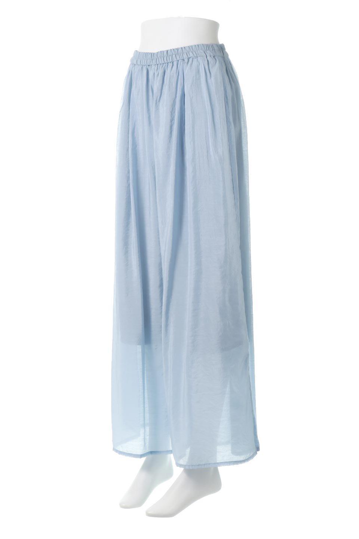 WideLegSlitSheerPantsサイドスリット・シアーパンツ大人カジュアルに最適な海外ファッションのothers(その他インポートアイテム)のボトムやパンツ。透け感のある人気のシアー素材を使用したワイドパンツ。涼しげな素材でスカートのような軽い着心地です。/main-6
