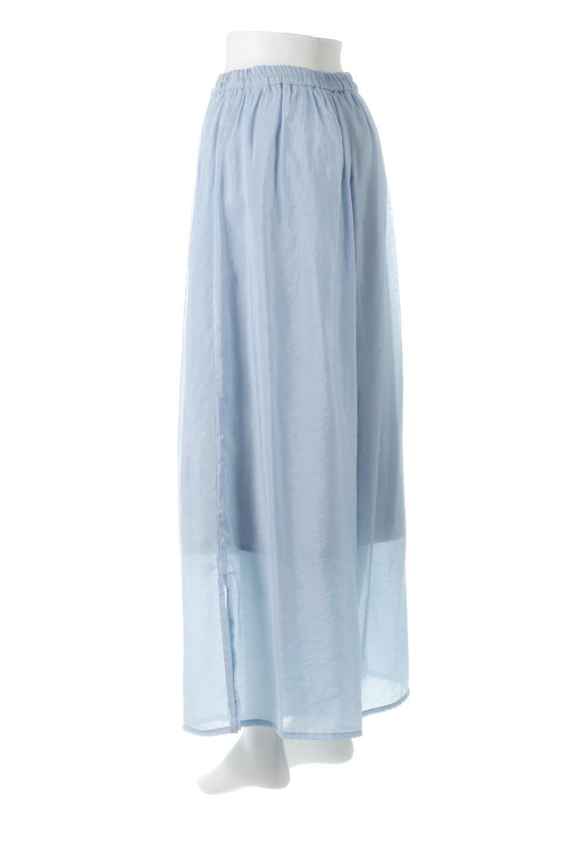 WideLegSlitSheerPantsサイドスリット・シアーパンツ大人カジュアルに最適な海外ファッションのothers(その他インポートアイテム)のボトムやパンツ。透け感のある人気のシアー素材を使用したワイドパンツ。涼しげな素材でスカートのような軽い着心地です。/main-8