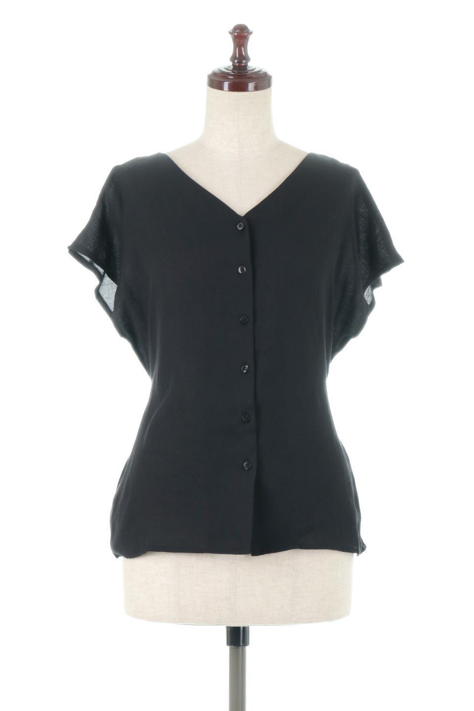 CacheCoeurBackBlouseバックカシュクール・タックブラウス大人カジュアルに最適な海外ファッションのothers(その他インポートアイテム)のトップスやシャツ・ブラウス。センターバックにカシュクールデザインを入れたチラ見せスタイルのブラウス。さらにベルトでバックシャンディテールに。/main-15