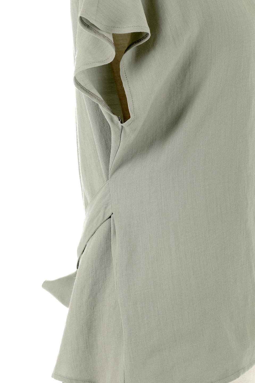 CacheCoeurBackBlouseバックカシュクール・タックブラウス大人カジュアルに最適な海外ファッションのothers(その他インポートアイテム)のトップスやシャツ・ブラウス。センターバックにカシュクールデザインを入れたチラ見せスタイルのブラウス。さらにベルトでバックシャンディテールに。/main-23