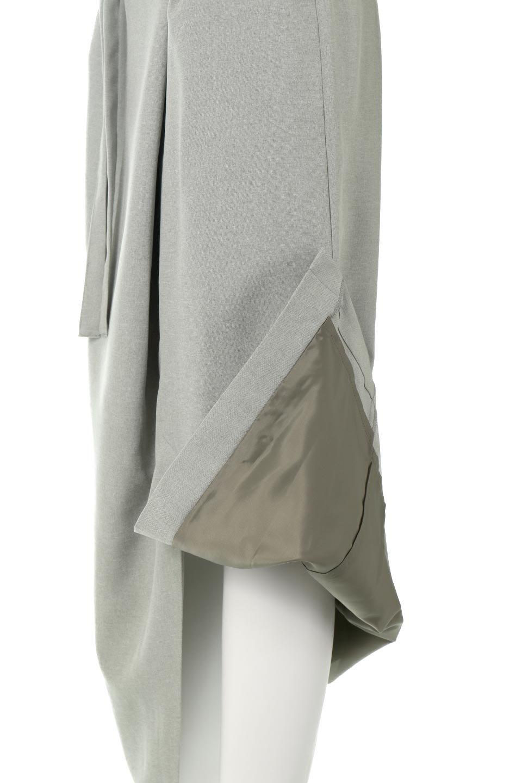 AsymmetricalWrapLongSkirtアシメデザイン・ラップロングスカート大人カジュアルに最適な海外ファッションのothers(その他インポートアイテム)のボトムやスカート。杢調のリネンライクな素材を使用したロングスカート。ラップデザインにより、どんなトップスに合わしてもこなれ感ばっちり透け感 : ★★☆☆☆  (?)★☆☆☆☆>さほど気になりません★★☆☆☆>光の具合で少し透けます★★★☆☆>気になる方はインナーを★★★★☆>インナー着用をおすすめ★★★★★>インナーが必要です ※白などは若干透け感がアップします素材ポリエステル100%サイズウエストヒップ股上股下総丈one3448--98※ サイズの測り方は