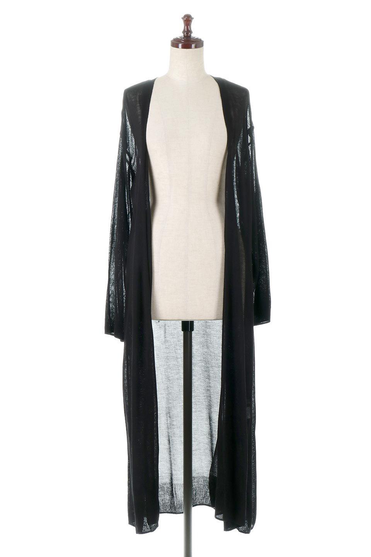 SheerKnittedLongCardiganシアーニット・ロングカーディガン大人カジュアルに最適な海外ファッションのothers(その他インポートアイテム)のアウターやカーディガン。透け感のあるニットを使用した春夏用ロングカーディガン。サラサラの肌触りの素材は麻のような涼しさを感じます。/main-10