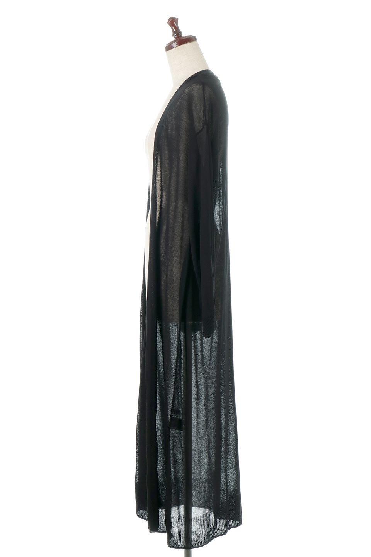 SheerKnittedLongCardiganシアーニット・ロングカーディガン大人カジュアルに最適な海外ファッションのothers(その他インポートアイテム)のアウターやカーディガン。透け感のあるニットを使用した春夏用ロングカーディガン。サラサラの肌触りの素材は麻のような涼しさを感じます。/main-12
