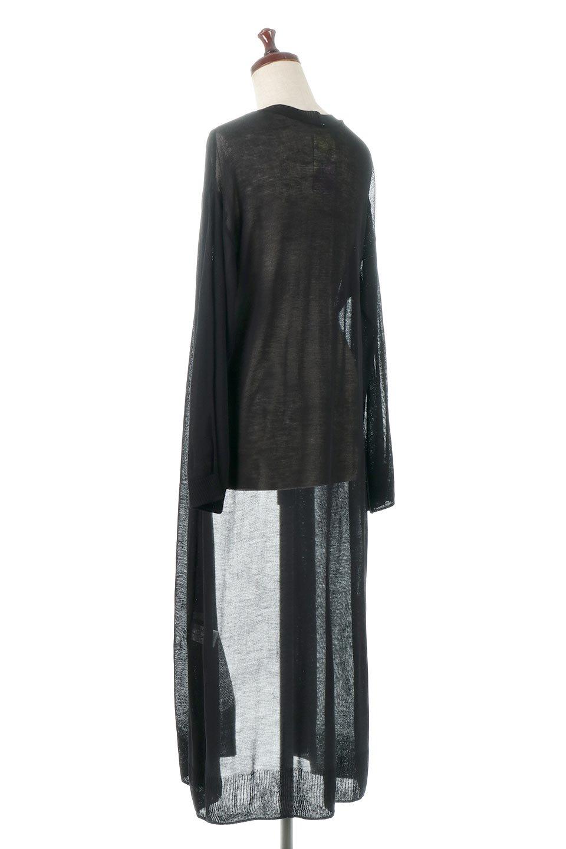 SheerKnittedLongCardiganシアーニット・ロングカーディガン大人カジュアルに最適な海外ファッションのothers(その他インポートアイテム)のアウターやカーディガン。透け感のあるニットを使用した春夏用ロングカーディガン。サラサラの肌触りの素材は麻のような涼しさを感じます。/main-13