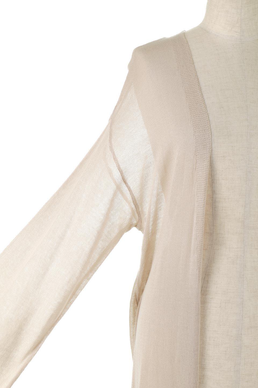 SheerKnittedLongCardiganシアーニット・ロングカーディガン大人カジュアルに最適な海外ファッションのothers(その他インポートアイテム)のアウターやカーディガン。透け感のあるニットを使用した春夏用ロングカーディガン。サラサラの肌触りの素材は麻のような涼しさを感じます。/main-19