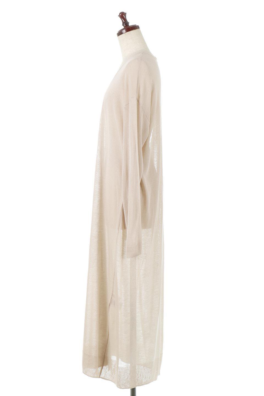 SheerKnittedLongCardiganシアーニット・ロングカーディガン大人カジュアルに最適な海外ファッションのothers(その他インポートアイテム)のアウターやカーディガン。透け感のあるニットを使用した春夏用ロングカーディガン。サラサラの肌触りの素材は麻のような涼しさを感じます。/main-2