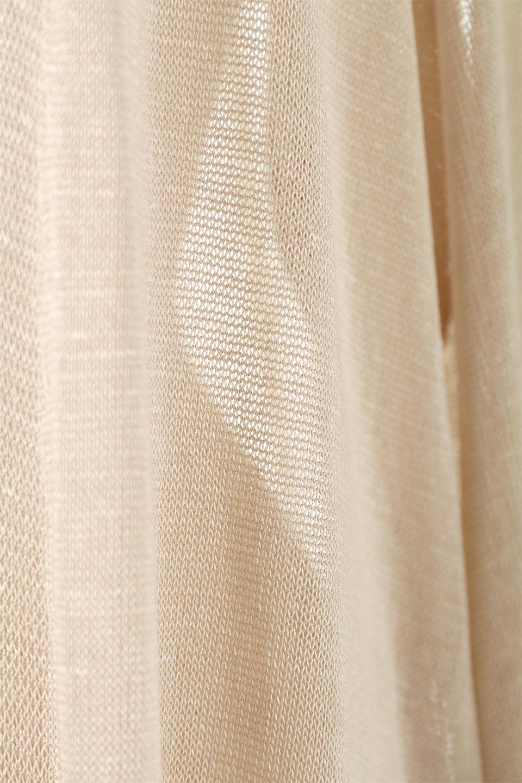 SheerKnittedLongCardiganシアーニット・ロングカーディガン大人カジュアルに最適な海外ファッションのothers(その他インポートアイテム)のアウターやカーディガン。透け感のあるニットを使用した春夏用ロングカーディガン。サラサラの肌触りの素材は麻のような涼しさを感じます。/main-22