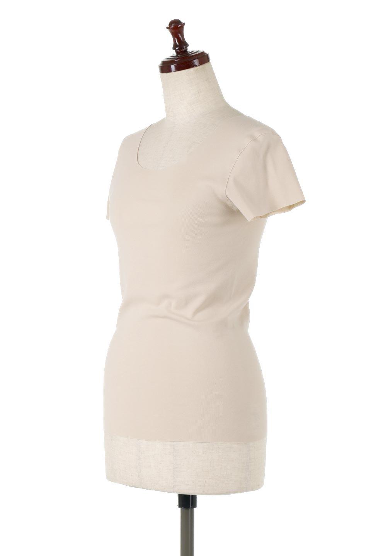 SeamlessFittedTShirts完全無縫製・なめらかフィットインナー大人カジュアルに最適な海外ファッションのothers(その他インポートアイテム)のトップスやカットソー。縫い目がないハイストレッチのなめらか素材を使用した半袖インナー。縫い目によるチクチクやかゆみを軽減させたシームレス仕様です。/main-1