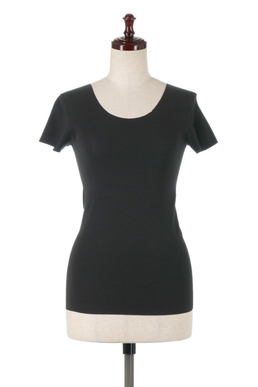 SeamlessFittedTShirts完全無縫製・なめらかフィットインナー大人カジュアルに最適な海外ファッションのothers(その他インポートアイテム)のトップスやカットソー。縫い目がないハイストレッチのなめらか素材を使用した半袖インナー。縫い目によるチクチクやかゆみを軽減させたシームレス仕様です。/main-10
