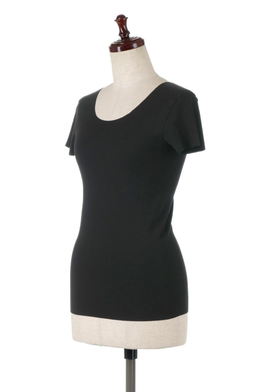 SeamlessFittedTShirts完全無縫製・なめらかフィットインナー大人カジュアルに最適な海外ファッションのothers(その他インポートアイテム)のトップスやカットソー。縫い目がないハイストレッチのなめらか素材を使用した半袖インナー。縫い目によるチクチクやかゆみを軽減させたシームレス仕様です。/main-11