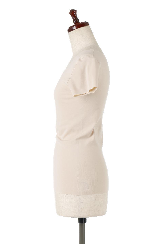 SeamlessFittedTShirts完全無縫製・なめらかフィットインナー大人カジュアルに最適な海外ファッションのothers(その他インポートアイテム)のトップスやカットソー。縫い目がないハイストレッチのなめらか素材を使用した半袖インナー。縫い目によるチクチクやかゆみを軽減させたシームレス仕様です。/main-2