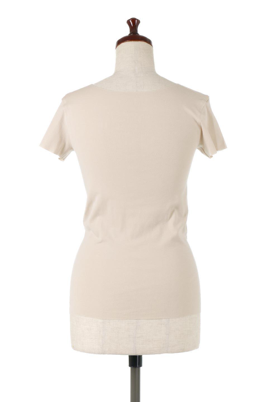 SeamlessFittedTShirts完全無縫製・なめらかフィットインナー大人カジュアルに最適な海外ファッションのothers(その他インポートアイテム)のトップスやカットソー。縫い目がないハイストレッチのなめらか素材を使用した半袖インナー。縫い目によるチクチクやかゆみを軽減させたシームレス仕様です。/main-4