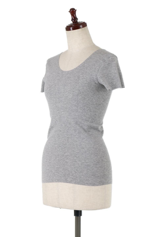 SeamlessFittedTShirts完全無縫製・なめらかフィットインナー大人カジュアルに最適な海外ファッションのothers(その他インポートアイテム)のトップスやカットソー。縫い目がないハイストレッチのなめらか素材を使用した半袖インナー。縫い目によるチクチクやかゆみを軽減させたシームレス仕様です。/main-6