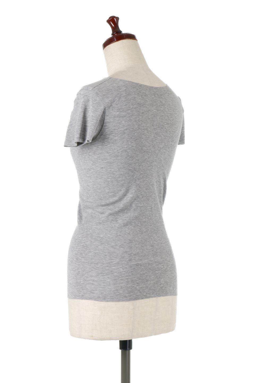 SeamlessFittedTShirts完全無縫製・なめらかフィットインナー大人カジュアルに最適な海外ファッションのothers(その他インポートアイテム)のトップスやカットソー。縫い目がないハイストレッチのなめらか素材を使用した半袖インナー。縫い目によるチクチクやかゆみを軽減させたシームレス仕様です。/main-8