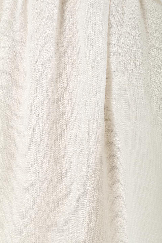 WaistFrilledTackSleeveBlouseタックスリーブ・ウエストフリルブラウス大人カジュアルに最適な海外ファッションのothers(その他インポートアイテム)のトップスやシャツ・ブラウス。摘んだようなタック袖と、ウエストにフリルをあしらった半袖ブラウス。立体的なペプラムシルエットを楽しめます。/main-15