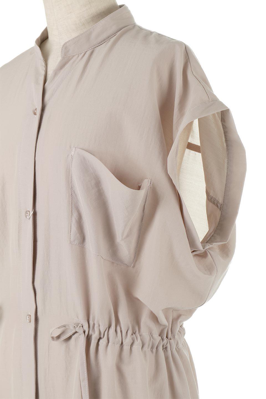 WaistDrawstringLooseDressウエストドロスト・ポケット付きワンピース大人カジュアルに最適な海外ファッションのothers(その他インポートアイテム)のワンピースやマキシワンピース。両サイドについたウエストのドロストリボンの絞り具合で様々なシルエットが楽しめるワンピース。上品な光沢があるシルキータッチの素材感も人気の定番ワンピースです。/main-17