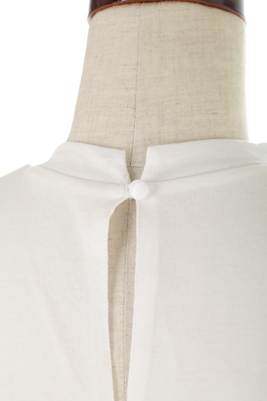 AsymmetricalSlittedTopアシメントリー・スリットトップス大人カジュアルに最適な海外ファッションのothers(その他インポートアイテム)のトップスやカットソー。スリット入りのアシメントリーデザインが可愛い半袖トップス。背中のボタンや袖の折返しなど、ちょっとしたアクセントが入ったトップスです。/main-16