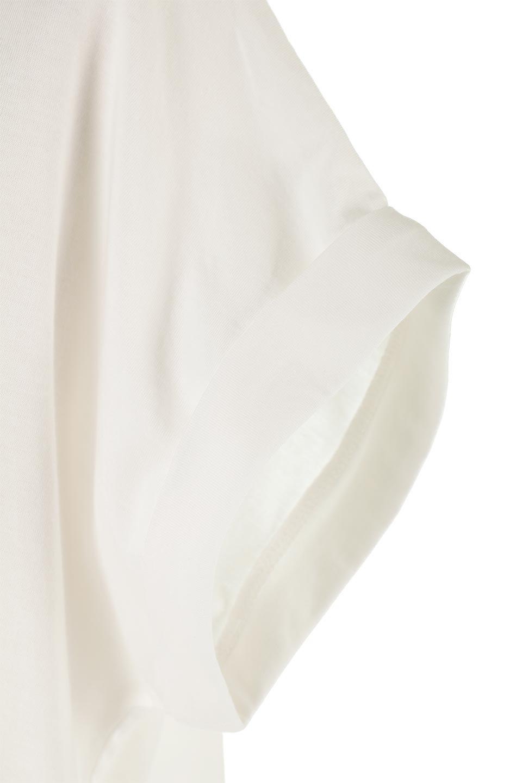 AsymmetricalSlittedTopアシメントリー・スリットトップス大人カジュアルに最適な海外ファッションのothers(その他インポートアイテム)のトップスやカットソー。スリット入りのアシメントリーデザインが可愛い半袖トップス。背中のボタンや袖の折返しなど、ちょっとしたアクセントが入ったトップスです。/main-20