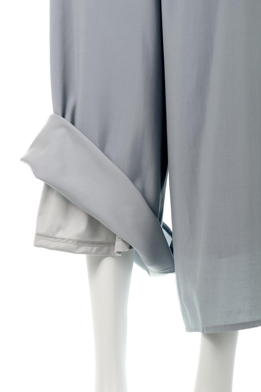 SoftTwillCroppedFlarePantsソフトツイル・フレアパンツ大人カジュアルに最適な海外ファッションのothers(その他インポートアイテム)のボトムやパンツ。サラサラの生地が涼しげなクロップドワイドパンツ。若干透け感のある素材ですが、同色のサテンの裏地付きなので安心です。/main-20