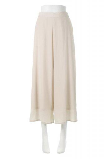 海外ファッションや大人カジュアルに最適なインポートセレクトアイテムのSoft Twill Cropped Flare Pants ソフトツイル・フレアパンツ