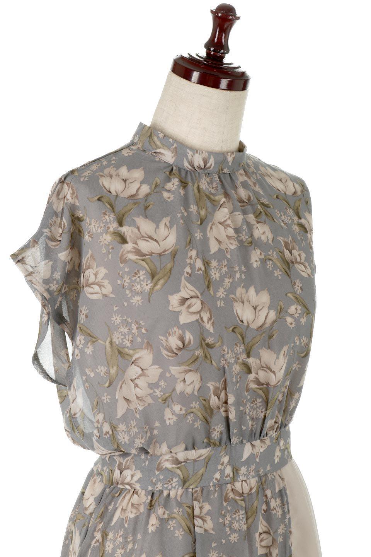 FloralPrintedPanelSkirtDress花柄・切り替えワンピース大人カジュアルに最適な海外ファッションのothers(その他インポートアイテム)のワンピースやマキシワンピース。女性らしさ漂う花柄×異素材MIXのロングワンピース。大きな花柄の中に異素材をMIXさせる事で甘さの中に大人の女性らしさをプラスさせています。/main-10