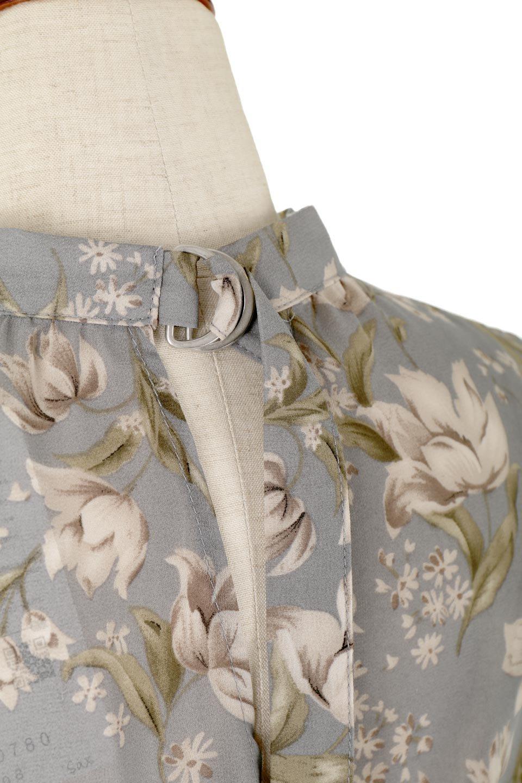 FloralPrintedPanelSkirtDress花柄・切り替えワンピース大人カジュアルに最適な海外ファッションのothers(その他インポートアイテム)のワンピースやマキシワンピース。女性らしさ漂う花柄×異素材MIXのロングワンピース。大きな花柄の中に異素材をMIXさせる事で甘さの中に大人の女性らしさをプラスさせています。/main-12