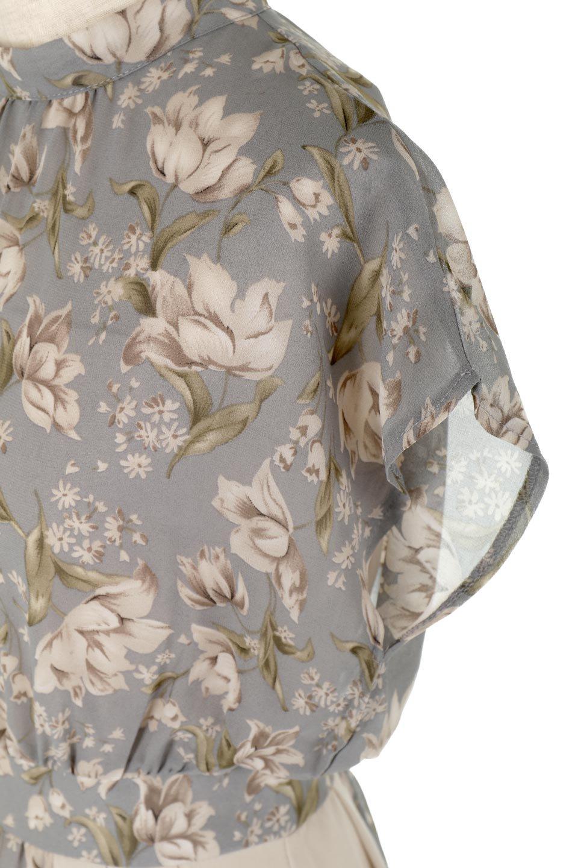 FloralPrintedPanelSkirtDress花柄・切り替えワンピース大人カジュアルに最適な海外ファッションのothers(その他インポートアイテム)のワンピースやマキシワンピース。女性らしさ漂う花柄×異素材MIXのロングワンピース。大きな花柄の中に異素材をMIXさせる事で甘さの中に大人の女性らしさをプラスさせています。/main-13
