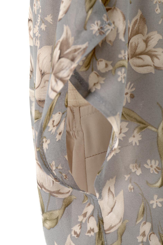 FloralPrintedPanelSkirtDress花柄・切り替えワンピース大人カジュアルに最適な海外ファッションのothers(その他インポートアイテム)のワンピースやマキシワンピース。女性らしさ漂う花柄×異素材MIXのロングワンピース。大きな花柄の中に異素材をMIXさせる事で甘さの中に大人の女性らしさをプラスさせています。/main-14