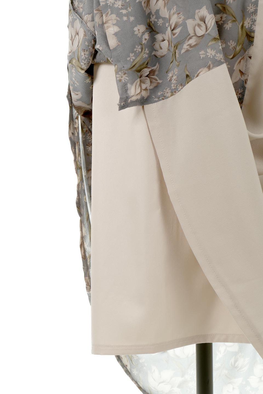 FloralPrintedPanelSkirtDress花柄・切り替えワンピース大人カジュアルに最適な海外ファッションのothers(その他インポートアイテム)のワンピースやマキシワンピース。女性らしさ漂う花柄×異素材MIXのロングワンピース。大きな花柄の中に異素材をMIXさせる事で甘さの中に大人の女性らしさをプラスさせています。/main-19