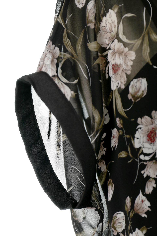 SideBeltFloralLongDress花柄・サイドベルトワンピース大人カジュアルに最適な海外ファッションのothers(その他インポートアイテム)のワンピースやマキシワンピース。軽やかな透け感が楽しめる花柄のロングワンピース。ウエストにベルトを施しエッジを効かせ、ハイウエストの切替で下半身がスラッと見えます。/main-14